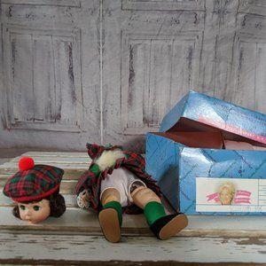 Madame Alexander Scotland 596 doll